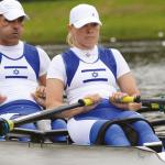 גבר ואישה חותרים בסירה זוגית, ספורט פראלימפי
