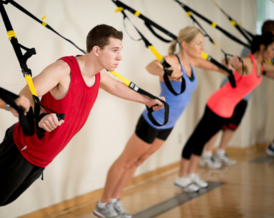 Suspension TRX training